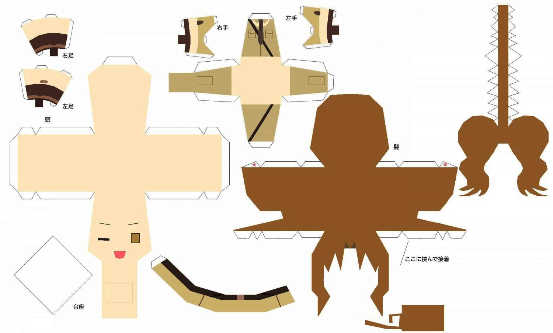 Как сделать куклу из бумаги, бумажные куклы с одеждой 54