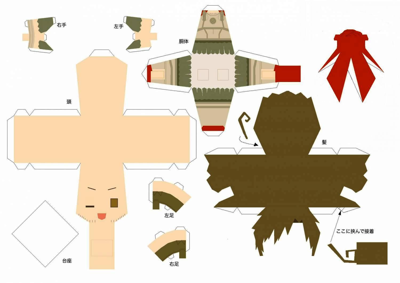 Как сделать фигуры из бумаги чертёжи